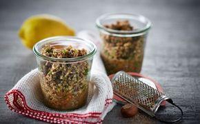 Champignonpesto  Lækker champignonpesto som passer perfekt til tapas, sandwiches eller salater.