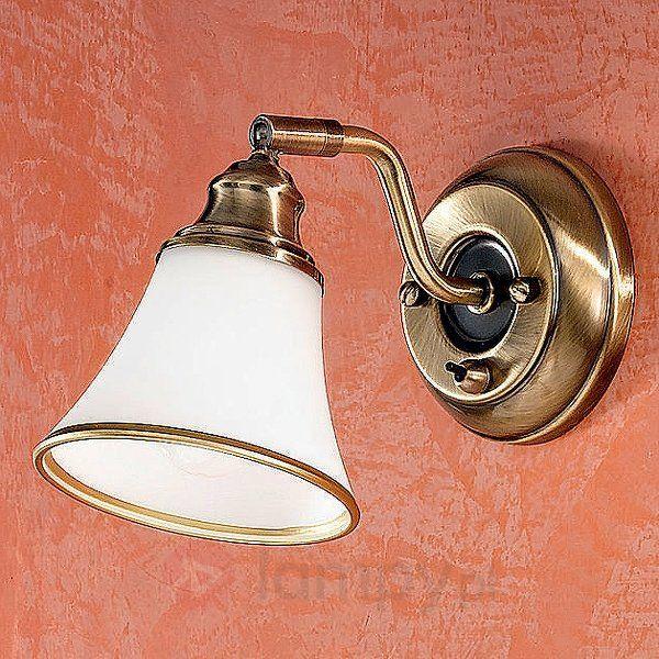Klasyczna lampa ścienna TILDA z regulowaną głowicą 7254264