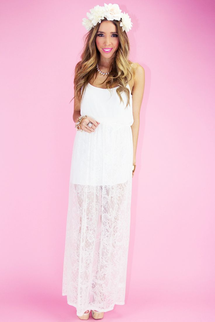 Mejores 50 imágenes de Becca\'s wedding en Pinterest | Vestido blanco ...