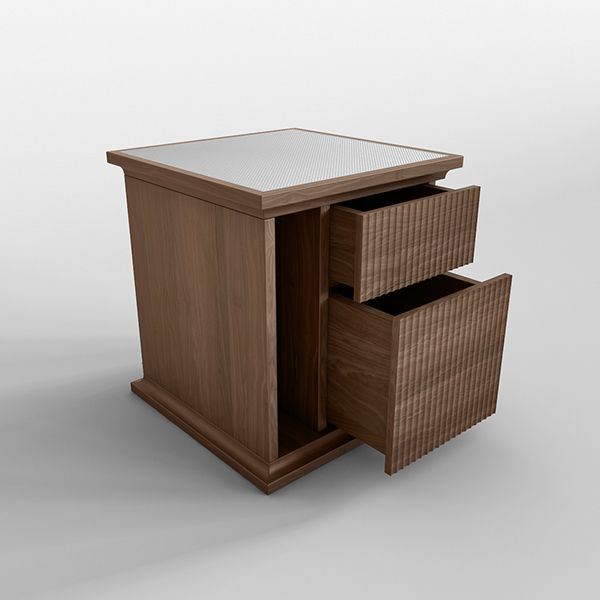 Concept Project & Rendering for an engraved bedboard and sideboard.  RNDR Studio - www.rndrstudio.it