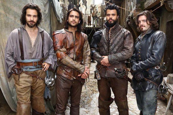 The Musketeers - Series III BtS via @TomBurkeOnlinex on twitter.