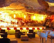 This restaurant is inside of a denote (or cavern) in Playa del Carmen. A restaurant you don't want to miss!