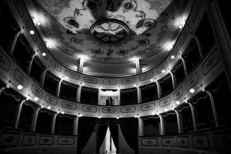 #engagement #shoot #theatre #savethedate