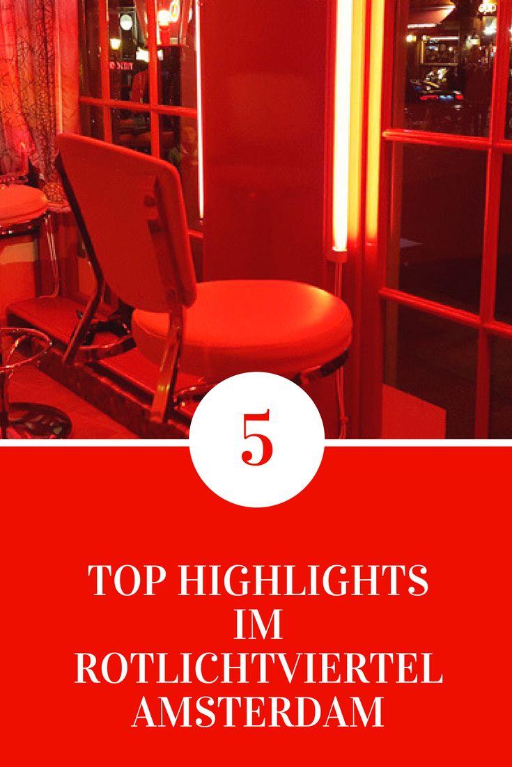 Wir zeigen dir 5 Orte im Amsterdamer Rotlichtiviertel, die du nicht verpassen darfst.