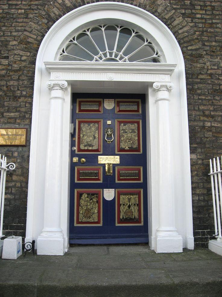 The front door of number 86 Merrion Square. & 13 best Doors of Dublin images on Pinterest | Georgian Georgian ...