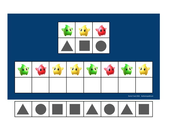 Board and tiles for the Mario visual perception game. By Autismespektrum