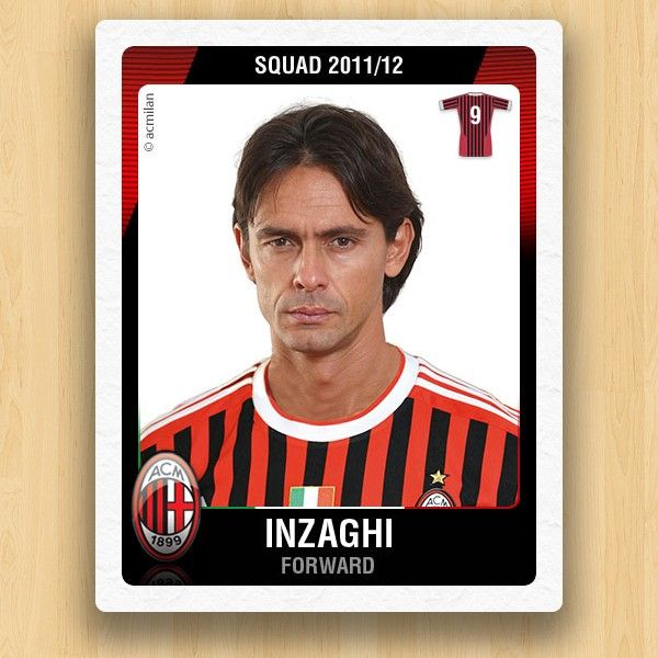 A.C. Milan Collections - Inzaghi Filippo