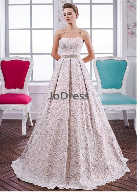 9af25cd2e80 Jodress Lace Wedding Dress T801525385906
