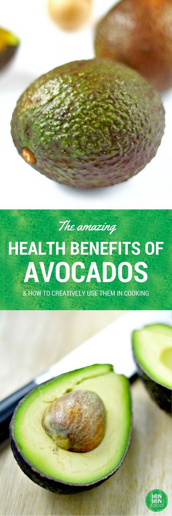 Avocado Health Benefits & How to Cook (and Bake) with Them | WIN-WINFOOD.com