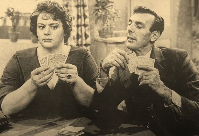 Hattie Jacques & Eric Sykes  in the tv show called sykes