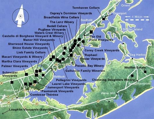 Long Island Wineries