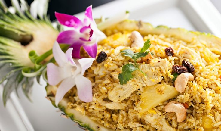 ArtTable | Τηγανητό ρύζι με κοτόπουλο, ανανά και κάσιους