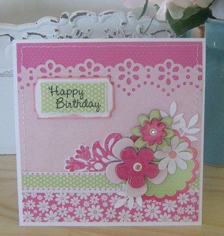 Candy lane bday card