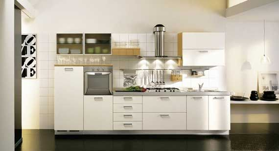 10 Luxurious Small Kitchens Design Ideas with cabinet by Zg Group