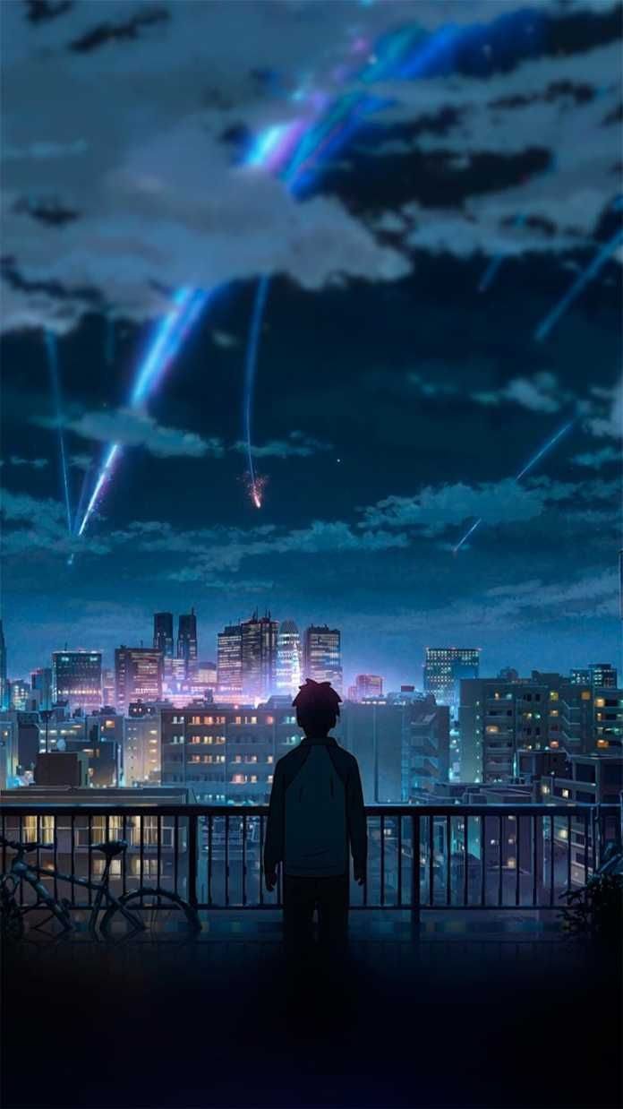 Taki Kimi No Na Wa 05 Anime Scenery Your Name Anime Anime Wallpaper Iphone