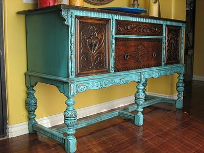 teal and stain