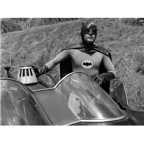 Batman Classic 1966 TV Out Of The Batmobile Gallery Print