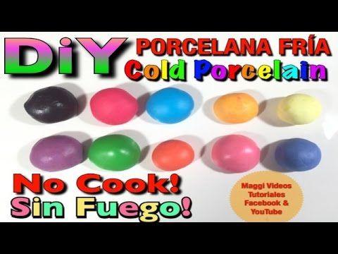 Como Hacer Porcelana Fria - YouTube
