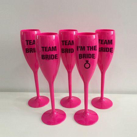 Taça Champagne Personalizada - Acrilico