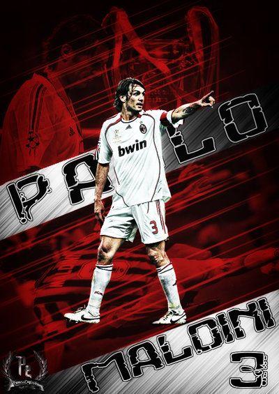 Paolo Maldini AC Milan LEGEND