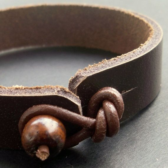 I know this is a man's bracelet but I'd love something like this.