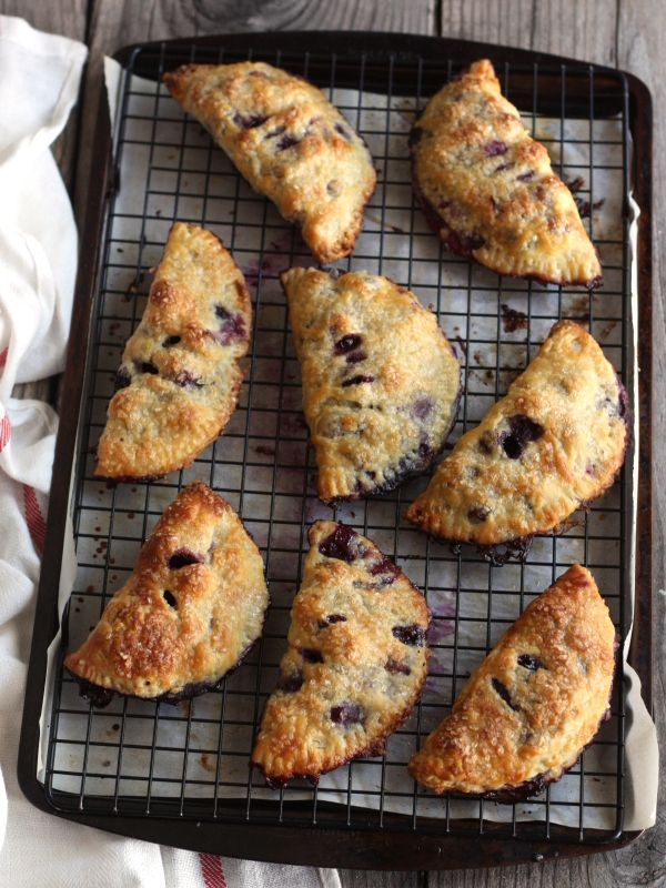 There's nothing quite like enjoying a homemade hand-pie after a long day in the kitchen. These freezer-friendly blueberry hand pies are the perfect way to celebrate blueberries all month long.