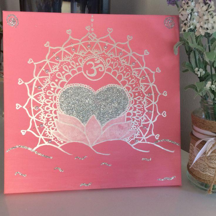 Un favorito personal de mi tienda de Etsy https://www.etsy.com/es/listing/519918157/pintura-decorativa-moderna-para-la  #cuadros #mandalas #canvas #loto #flordeloto #despertar #cuadrosdecorativos #cuadrosmodernos #arte #art #pintura #etsy #etsyshop #lotus #pink #rosa #purpurina #handmade #pintura