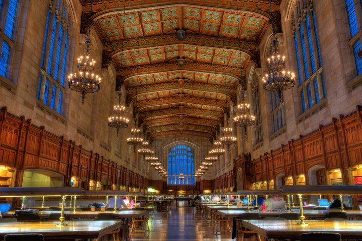 The University of Michigan Law Library (my favorite place to study ...