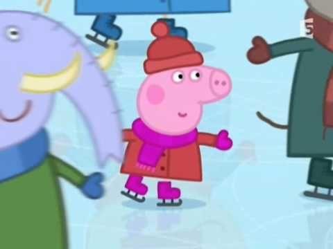 Peppa Pig (Cochon) - Français - Le Patin À Glace