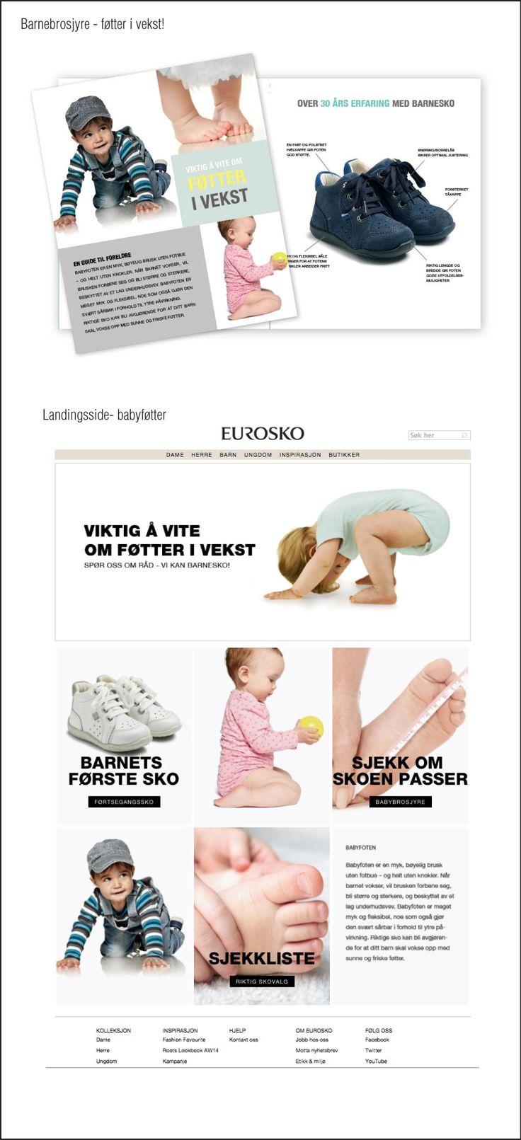 Babybrosjyre. Se link: http://www.eurosko.no/sider/mineforstesko