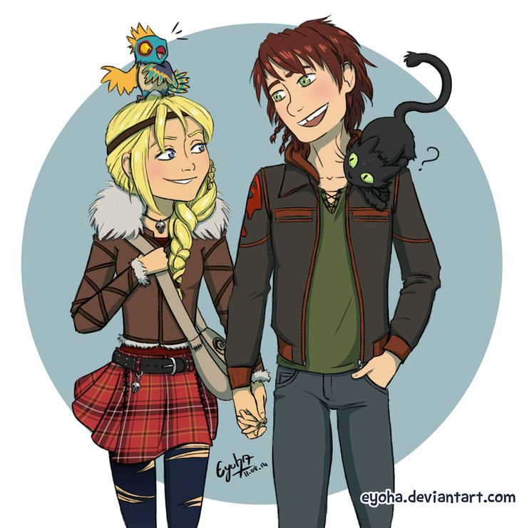Httyd 2 - Hiccup and Astrid by Eyoha.deviantart.com on @deviantART