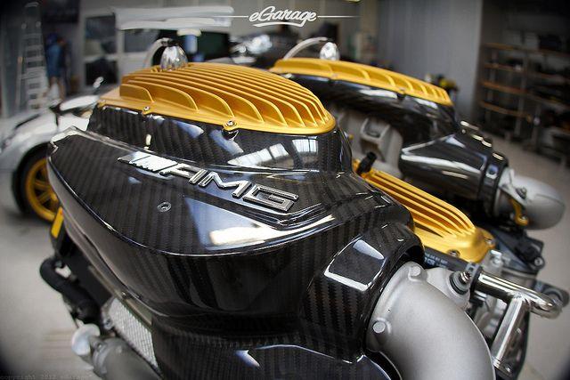 AMG V12 Engine in the Pagani Huayra