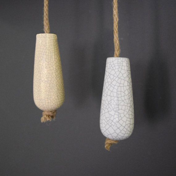 These stunning ceramic bathroom light pulls / curtain pulls will add colour and style to your room. Complete with a rope cord. Our ceramic light pulls come complete with a knotted on a 5mm thick jute rope (approx 64 inches long)  These are a great feature for bathrooms, bedrooms and any other room with pull cord switches.  Sold individually. 2 designs available: LP3 - White Crackled Ceramic Bathroom Light Pull  LP4 - Cream Crackled Ceramic Bathroom Light pull   Light Pulls are an essential…