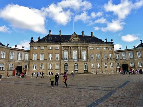 Amalienborg Palace,Copenhagen,Denmark