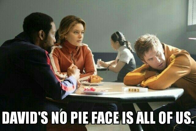 David's no pie face is all of us. #Legion #DavidHaller #DanStevens