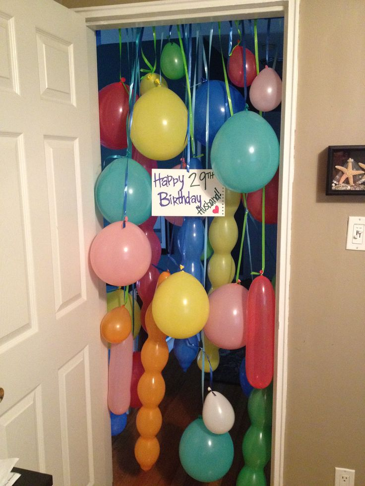 My husband is a big kid at heart. this was a perfect birthday morning surprise for him.                                                                                                                                                      More