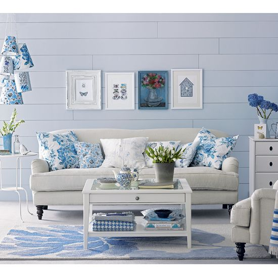 Style ideas with Blue and White