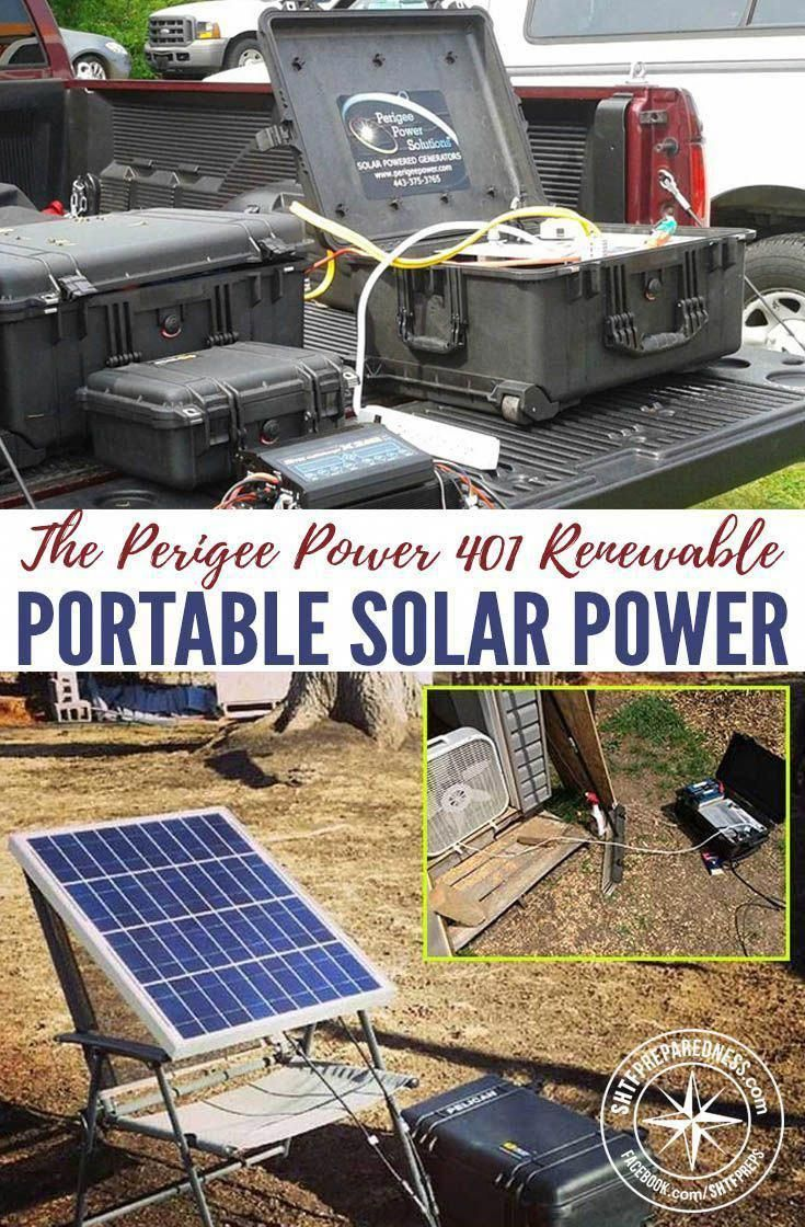 The Perigee Power 401 Renewable Portable Solar Power Generator The 401 Carry On Is A Portable Power System That In 2020 Solar Solar Technology Portable Solar Power