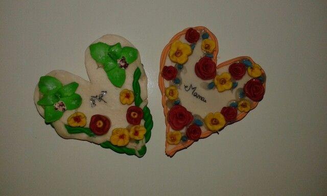Flower magnets FIMO (I)