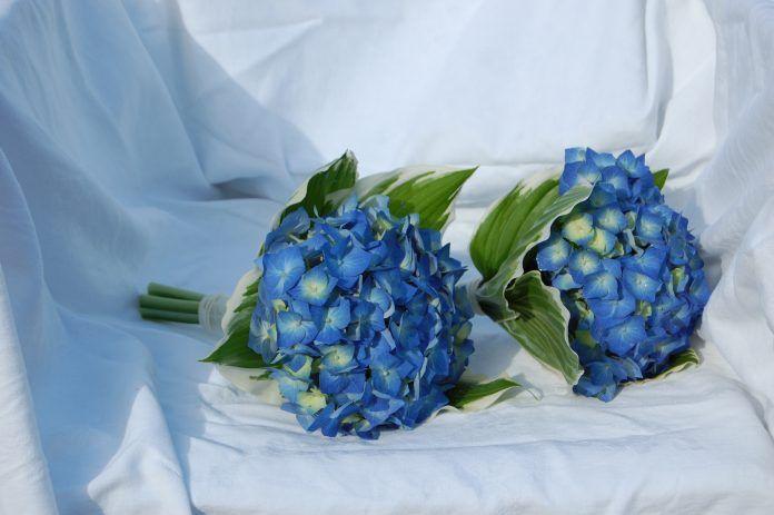 Mavi Gelin Buketi Modelleri - En Güzel Gelin Çiçeği Fikirleri