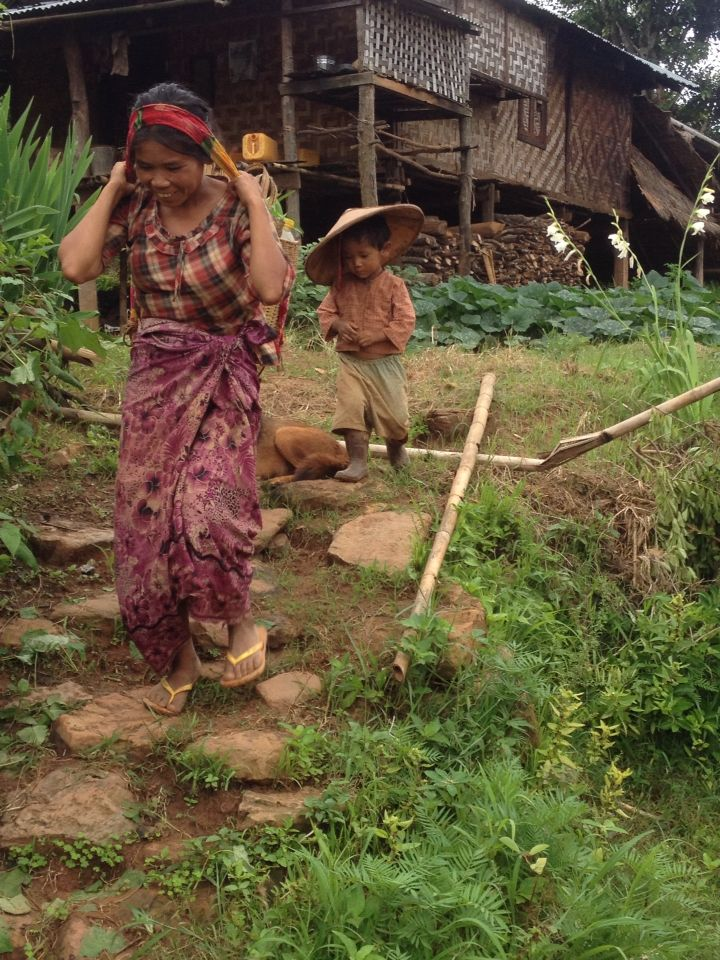 Shan village near Hsipaw (Myanmar)