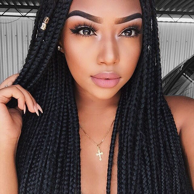 style your hair 701 best images about big box braids on 2339