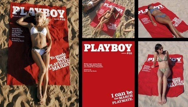 Argentine agency Grey came up with this brilliant idea for Playboy magazine.