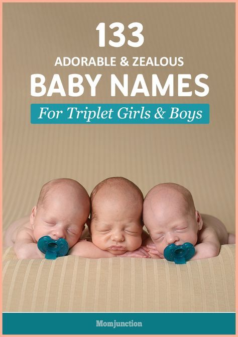 Expecting triplets and raking your head for Triplet baby names? Don't fret! Choose the perfect set of names that are simply adorable and triple your joy.
