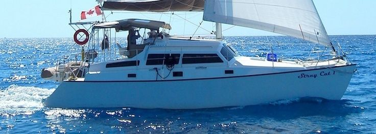 Sailing Catamarans - Gypsy - 8.5m Budget Offshore Cruiser with central cuddy