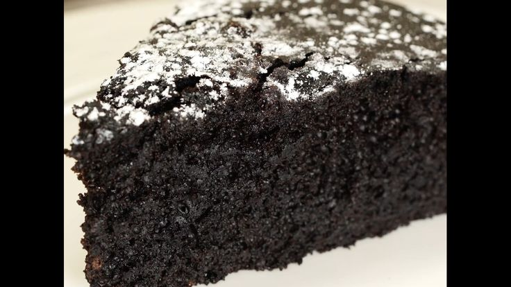 Moist Chocolate Cake- No Eggs, No Butter