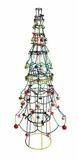 Image result for wire lampshade christmas tree
