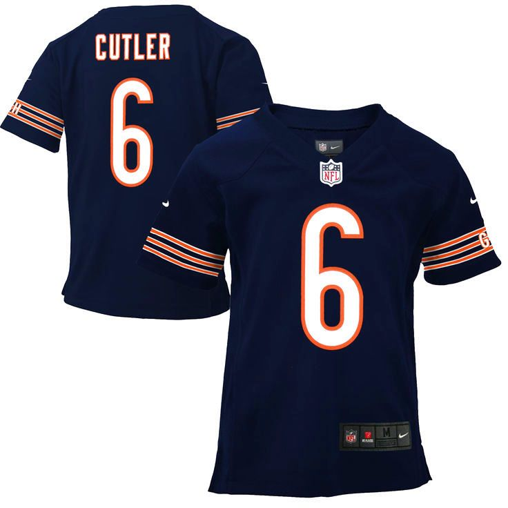 Jay Cutler Chicago Bears Nike Toddler Game Jersey – Navy Blue - $49.99