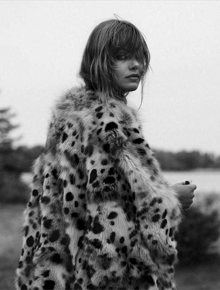 spécial mode: frida gustavsson in Chloe Fall 2014 by stefan heinrichs for glamour france october 2014