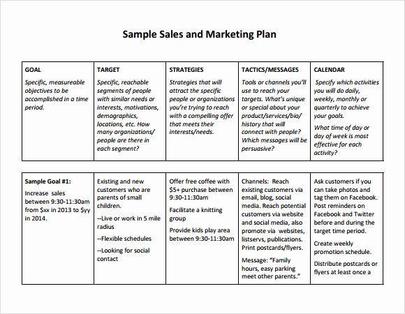 Sample Bonus Plan Document Luxury Sales Plan Template Marketing
